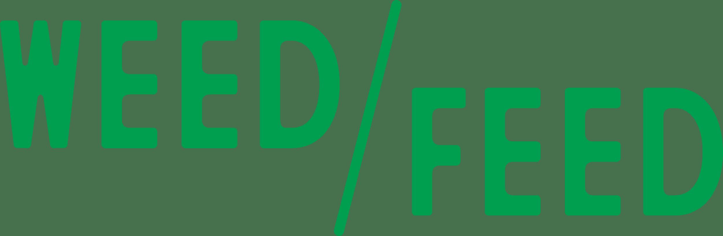 Weed Feed Logo