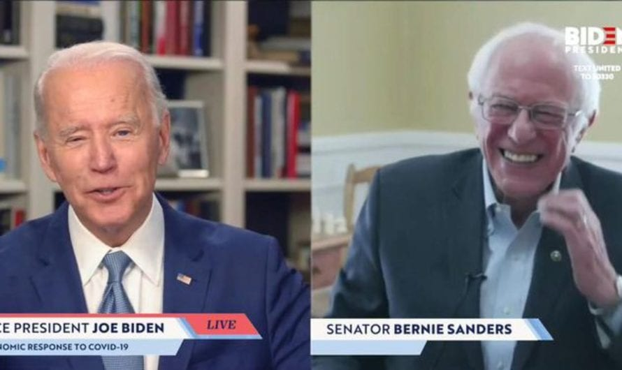 Biden-Sanders Policy Statement No Longer Supports Federal Pot Legalization